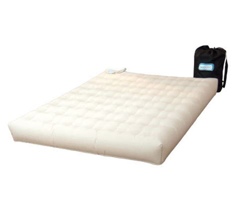 aero bed premier durasuede queen air mattress built