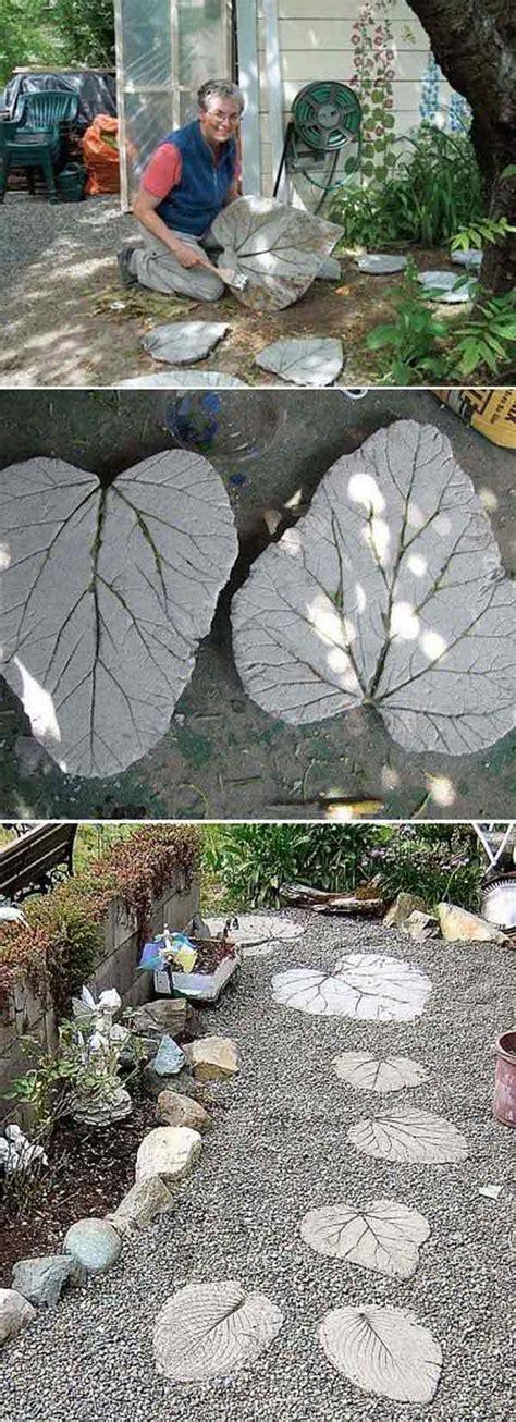 wonderful diy garden stepping stone ideas