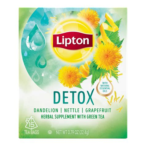Does Lipton Green Tea Detox detox