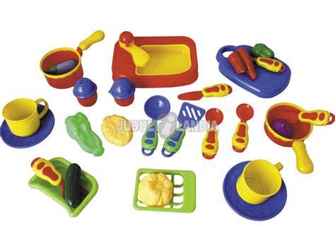 accessori di cucina accessori di cucina 28 pezzi juguetilandia