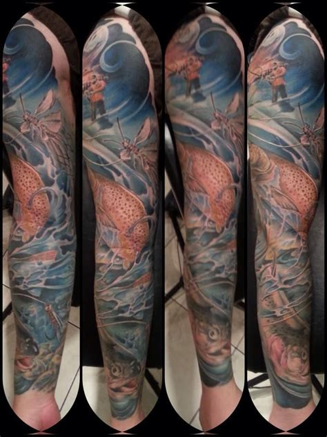 fly fishing tattoos our awesome fan kuo lo sent in another angle of his fly
