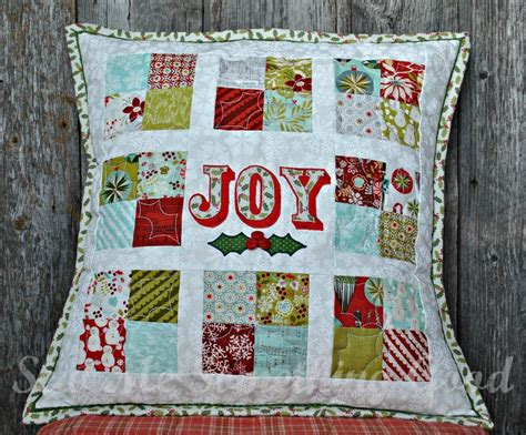 Free Patchwork Cushion Patterns - oh patchwork pillow by sew katherine craftsy