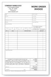 auto glass work order invoice windy city forms