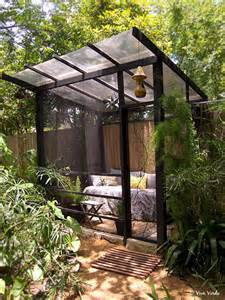Outdoor Screen Room by 17 Best Ideas About Outdoor Garden Rooms On Pinterest