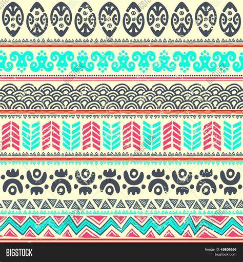 abstract tribal pattern abstract tribal pattern vector photo bigstock