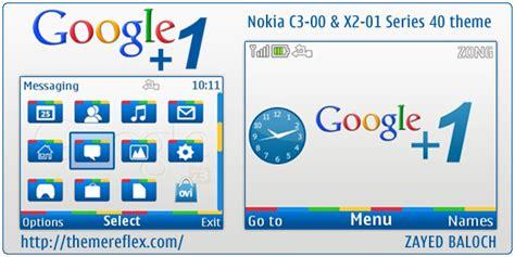themes nokia google google 1 theme for nokia c3 x2 01 updated themereflex