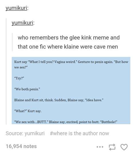 Kink Meme - kink meme buzzy funny talk