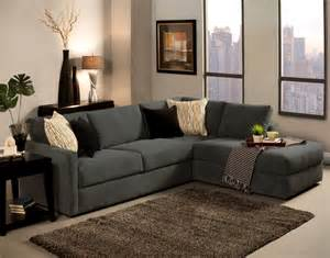Living Room Stunning Living Room Design With L Shaped Dark Gray Lounge Sofa Plus Cushions And