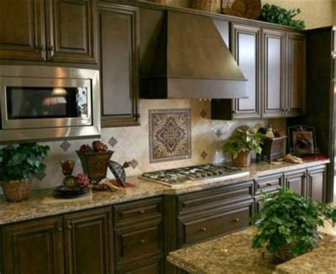 Kitchen Backsplash For Dark Cabinets | kitchen backsplash ideas 2012 home designs project