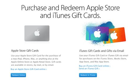 Redeem Apple Gift Card - redeem apple store gift card online photo 1
