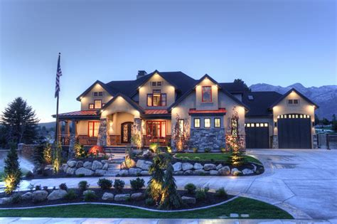 alpine 2014 parade of homes traditional exterior