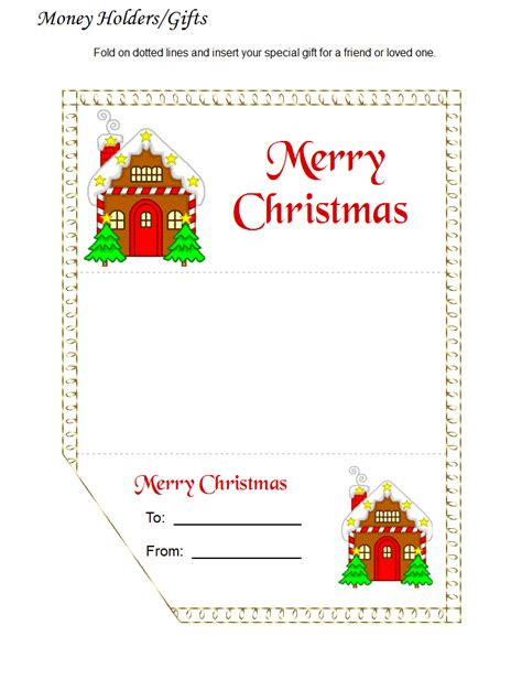 printable money gift cards christmas money cards holder christmas lights card and
