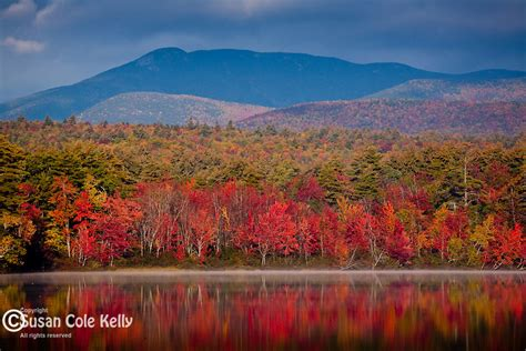 Mirror Lake New Hampshire by Sandwich Range Susan Cole Kelly Photography