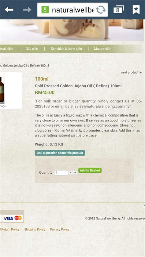 Minyak Jojoba pinkuneko cara membeli minyak jojoba
