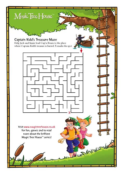 Www Magic Tree House by Magic Tree House Maze Scholastic Club