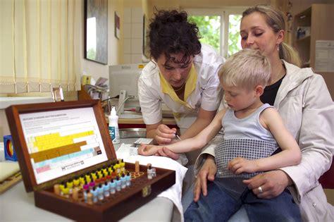 prove di intolleranza alimentare i test per le allergie e le intolleranze nei bambini