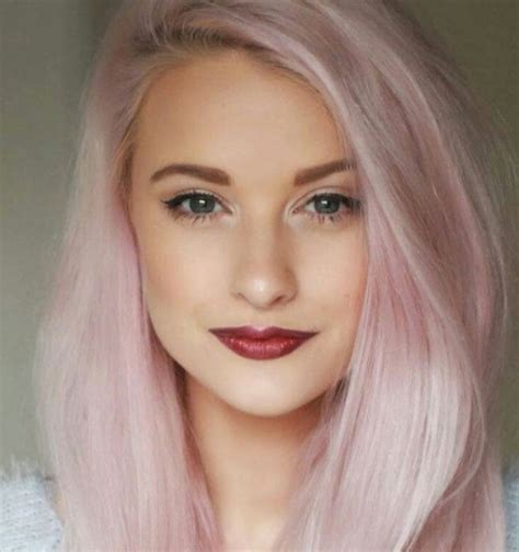 fun hair colors for over 65 pink hair color ideas popsugar beauty