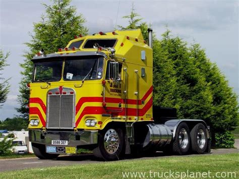 kenworth cabover history 10 best images about usa trucks in europa on pinterest