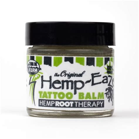 tattoo hemp lotion hemp eaze hemp tattoo balm personal size made by hemp co