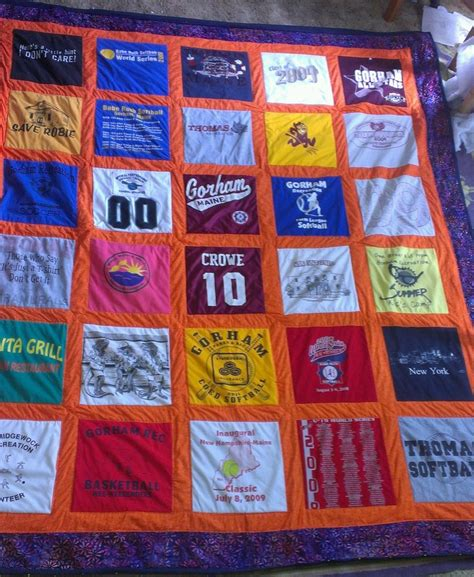 t shirt quilt pattern twin 2202 best t shirt quilts images on pinterest sewing