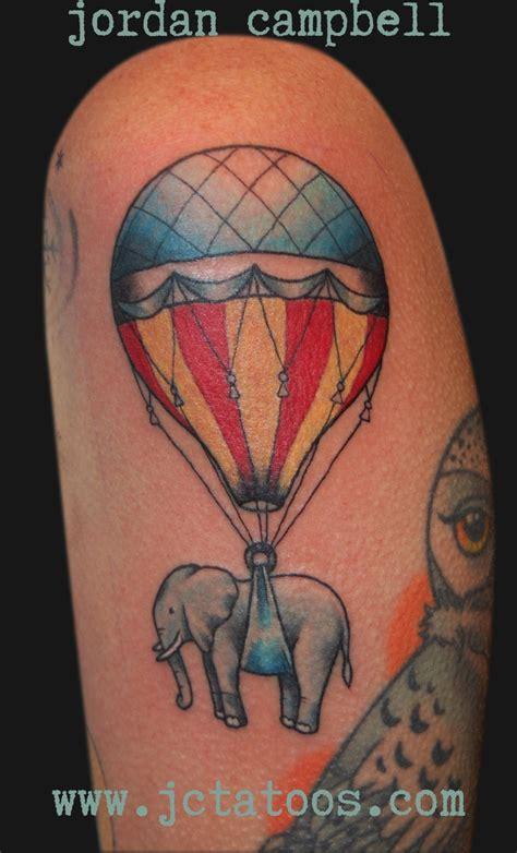 elephant balloon tattoo air balloon elephant tattoo tattoo jelly pinterest