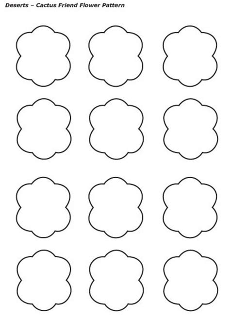 friendship flower template preschool programs chapter tslac