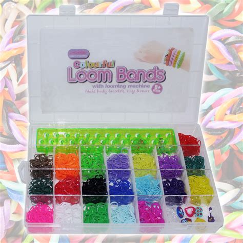 Refill Ring O Rainbow Loom Sembur 2200pc colourful rainbow rubber loom bands bracelet