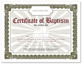 Free Baptism Certificate Templates Free Baptism Certificate Hmong American Baptist Church