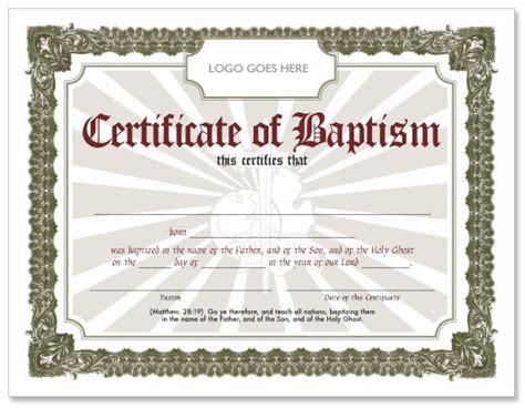 Free Baptism Certificate   Hmong American Baptist Church