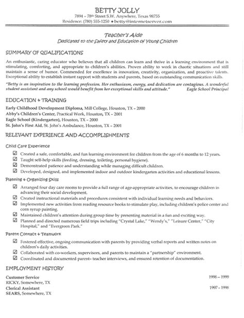 resumes for experienced teachers best letter sle