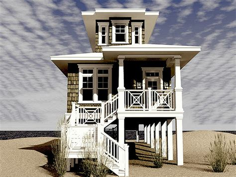 Narrow Lot Beach House Plans by Bedrooms With Two Beds Narrow Lot Beach House Plans Beach
