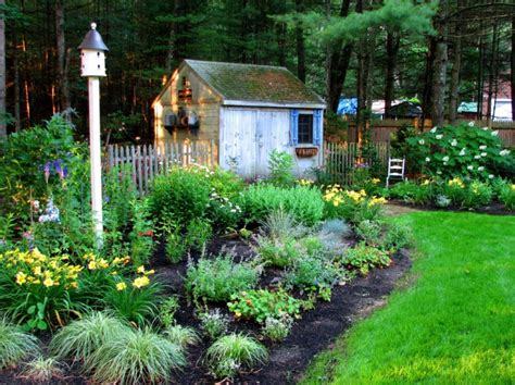 rustic landscaping ideas for a backyard 20 rustic garden designs ideas design trends premium