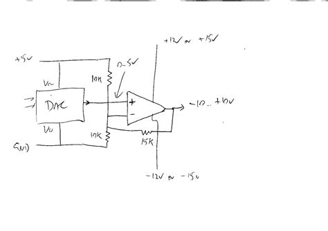 Divider Design Op Amp What S Wrong With This Circuit To Convert 0 5v To
