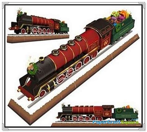 Papercraft Trains - papercraft