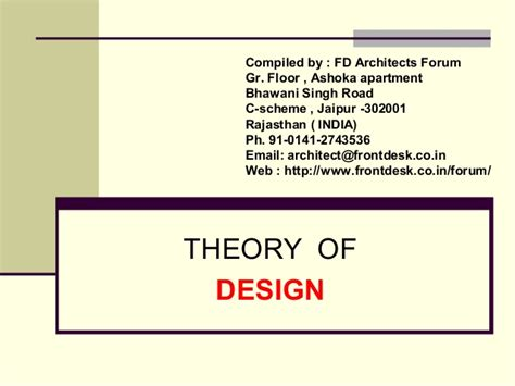 Theory Of Layout | theory of design