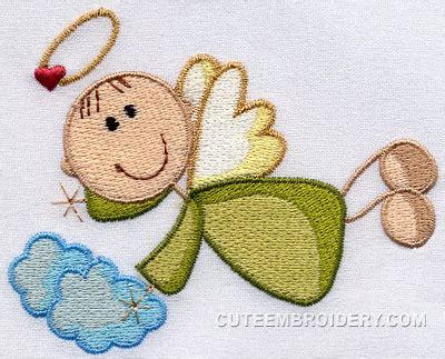 Free Embroidery Design Angel | free embroidery designs cute embroidery designs