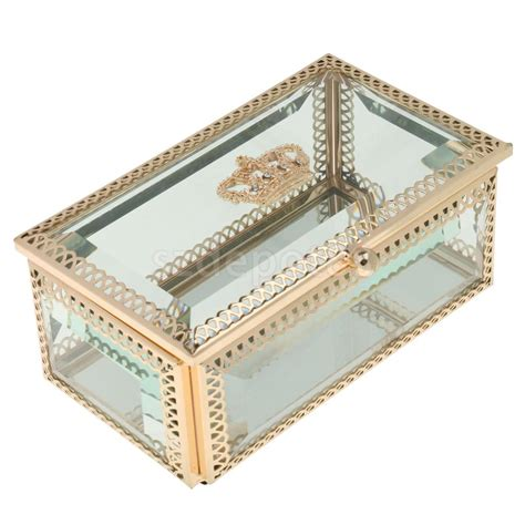Trinket Box Necklace Kalung Fashion buy wholesale glass trinket boxes from china glass