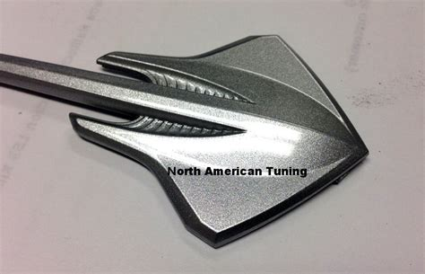 c7 corvette stingray painted carbon flash metallic badges