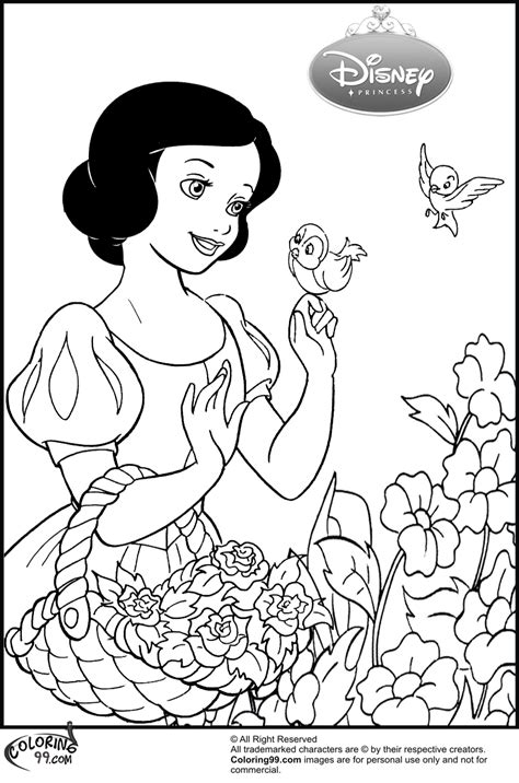 snow princess coloring pages disney princess snow white coloring pages team colors