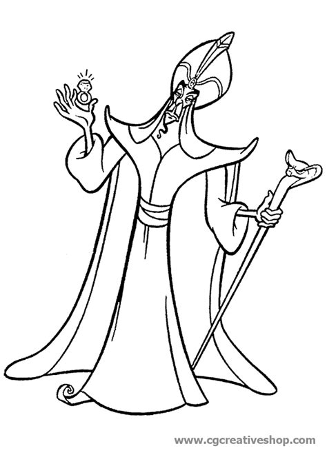 Jafar Pages Coloring Pages Jafar Coloring Pages