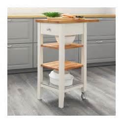 ikea stenstorp kitchen island stenstorp kitchen trolley white oak 45x43x90 cm ikea
