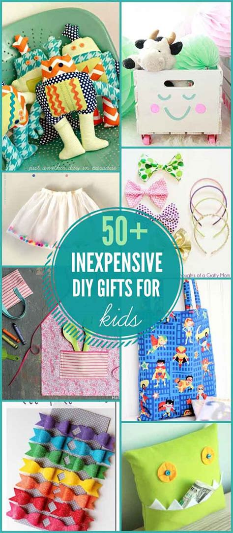 cheap gifts for kids 50 inexpensive diy gifts for kids lil moo creations