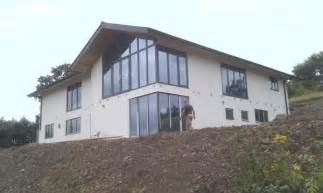Home Design Fairs Uk Peartree Farm House Timber Frame Construction Of A Modern