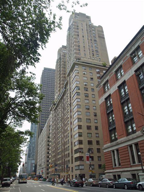 West Apartment Buildings The Century Central Park West Manhattan