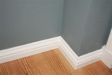 bathroom baseboards baseboard upgrade let s face the music