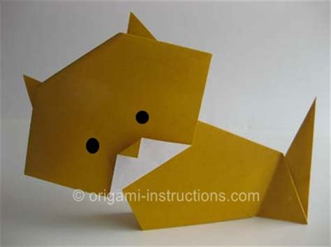 Origami Cat How To - pin origami cat skins backgrounds on