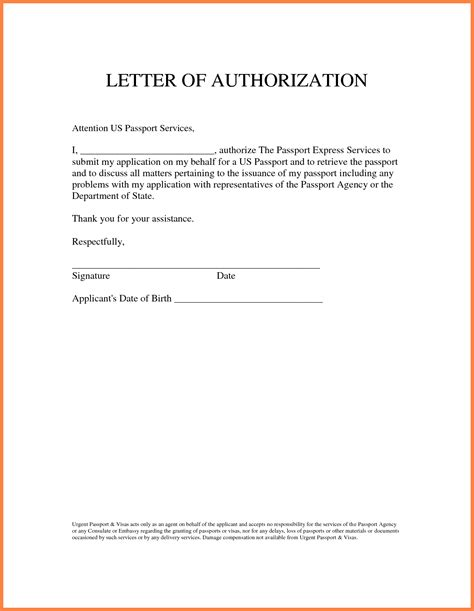 authorization letter format for tender opening sle authorization letter granting permissionthorization