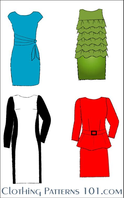 pattern drafting in fashion designing elements of clothing design
