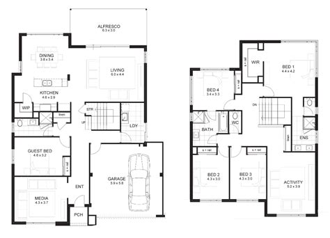 ultra modern house floor plans ideas modern house plan