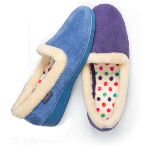 slipper material butterfly cake 2 blue or purple fabric slipper